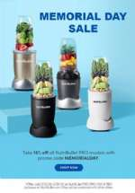 NutriBullet Memorial Day Sale