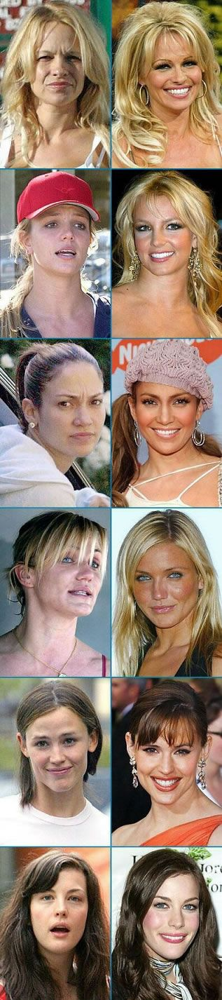 Celebrities Without Make-Up Image