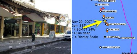 Strongest earthquake in 200 years hit Caribbean Image