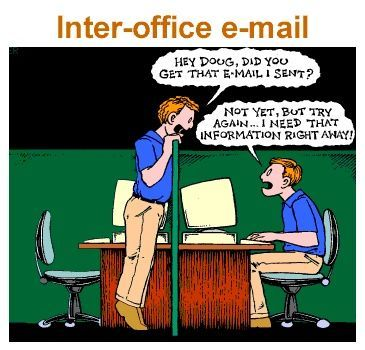 Inter Office E-mail Image