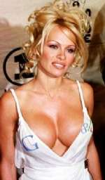 Pamela Anderson Advertises Google