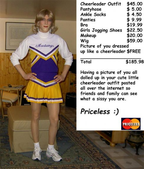 Priceless Mustangs Cheerleader Image