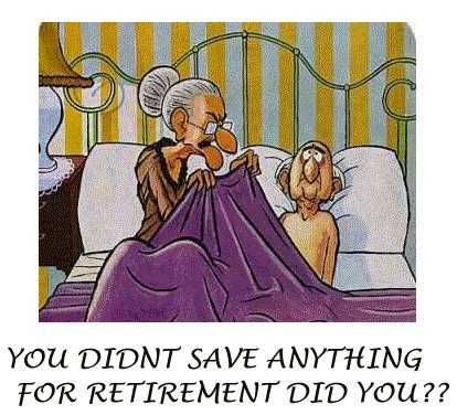 Always save for Retirement Image