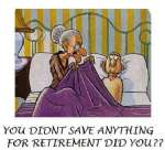 Always save for Retirement