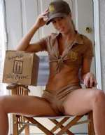 Sexy UPS Dilvery Girl-We Deliver