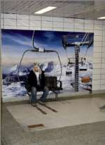 Subway Skiing Illusion